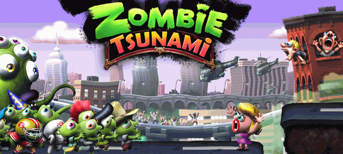 Cara Cheat Zombie Tsunami Unlimited Diamonds dan Coins