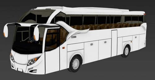 Template Livery Bussid XHD