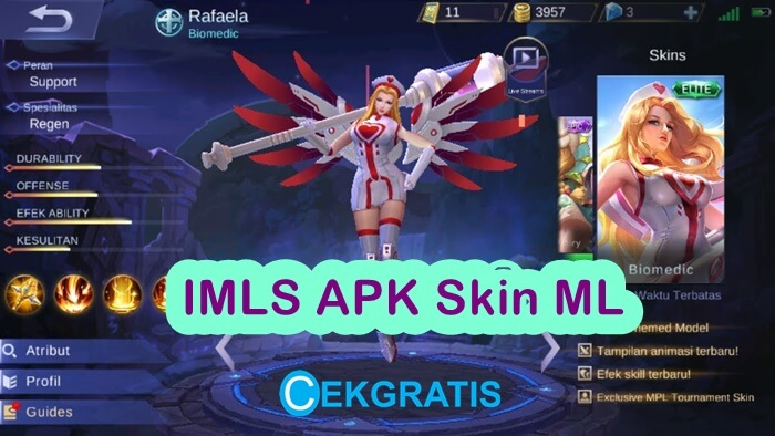 IMLS 1.8.11 Skin Mobile Legends ML APK Versi Terbaru 2020