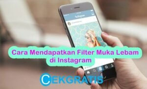 Filter Muka Lebam di Instagram